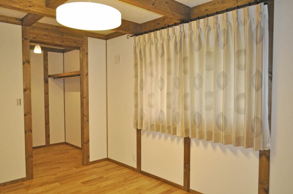 サイエンスホーム 寝室 オーダーカーテン モダン
