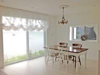 シャビーシック&エレガントなカーテン バルーンシェード 出窓にバランス 菱和ホーム
