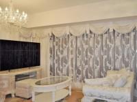 スワッグ&カスケードバランス エレガントスタイルなマンションのカーテン