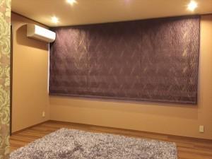 麻のカーテン 光の差し込むリビング ホテルライクな寝室 リフォームでトータルコーディネート
