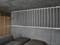 コンクリート打ちっぱなし×フラットカーテン 設計士の家 丸屋建設