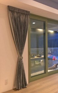 262.あえて透け感のあるレースで、お部屋からお庭を楽しむ  木村浩一設計