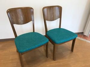 汚れや傷みがある椅子を張り替えて新品同様に