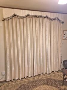 241.掛け替えのカーテンでボンディングバランスを施工