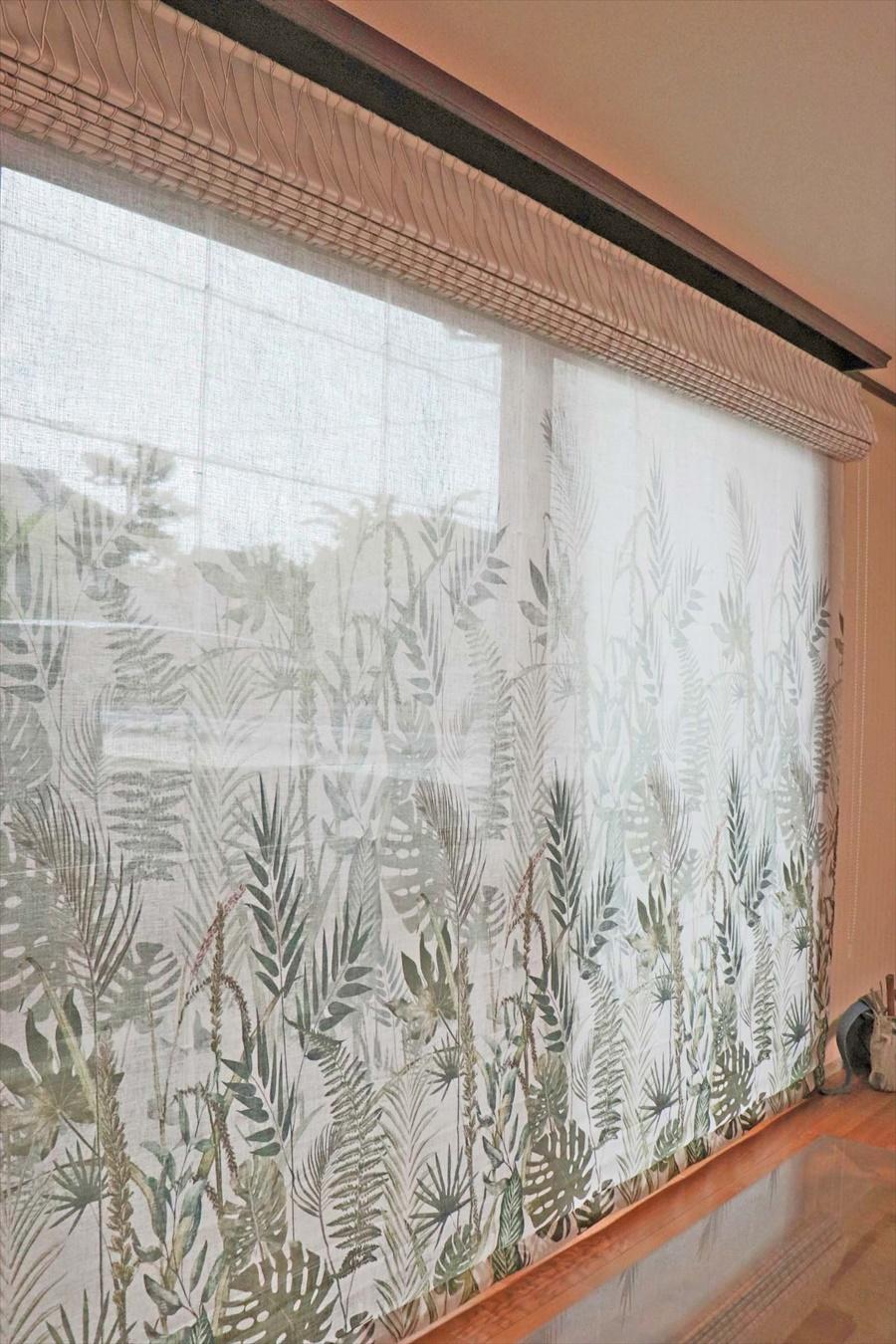 353.お部屋ごとに決めたテーマで個性のあるカーテンを楽しむ
