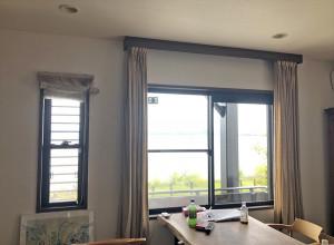 北欧柄のカーテンでお部屋の雰囲気ががらりと変化